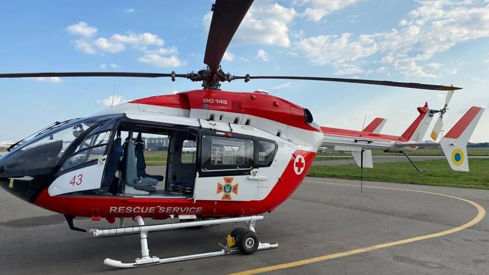 Аеромедична евакуація. В обласній лікарні хочуть облаштувати вертолітний майданчик