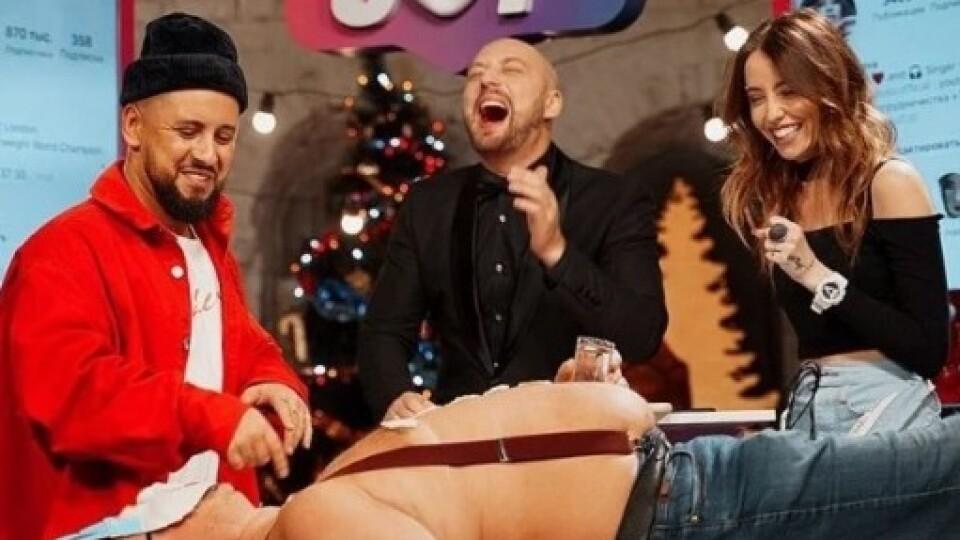Монатик знявся у новорічному випуску російського шоу
