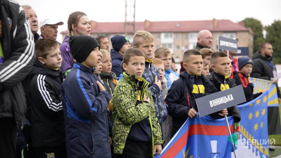 У Луцьку стартував фінал всеукраїнського турніру з футболу