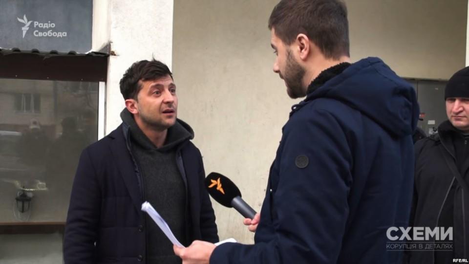 Зеленський продовжує вести кінобізнес у Росії,  який «закрив» ще  у 2014-му. ВІДЕО