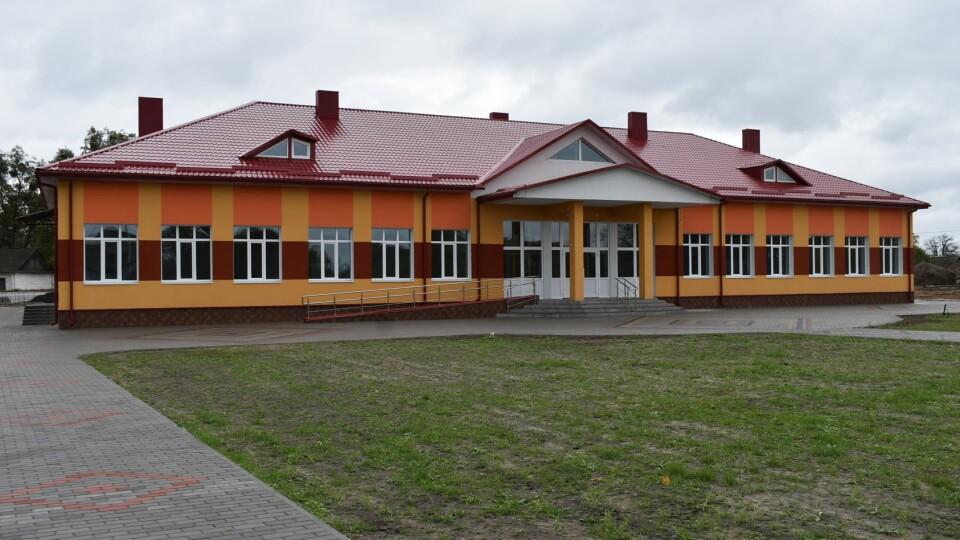 У Любешівському районі відкрили школу, яку будували ще з 2011 року