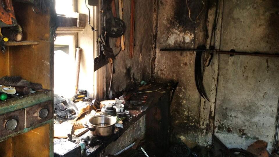 На Волині під час пожежі постраждав 17-річний хлопець