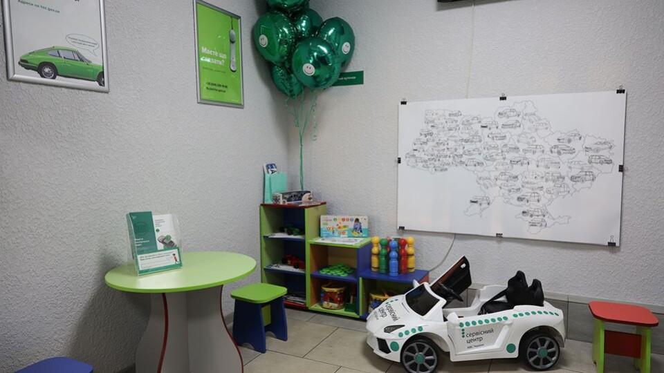 Дитячий куточок, буккросинг-полиця, інфобокс. На Волині відкрили оновлений сервісний центр МВС