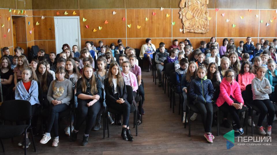 Як у школах Волині проводять «лісові» уроки
