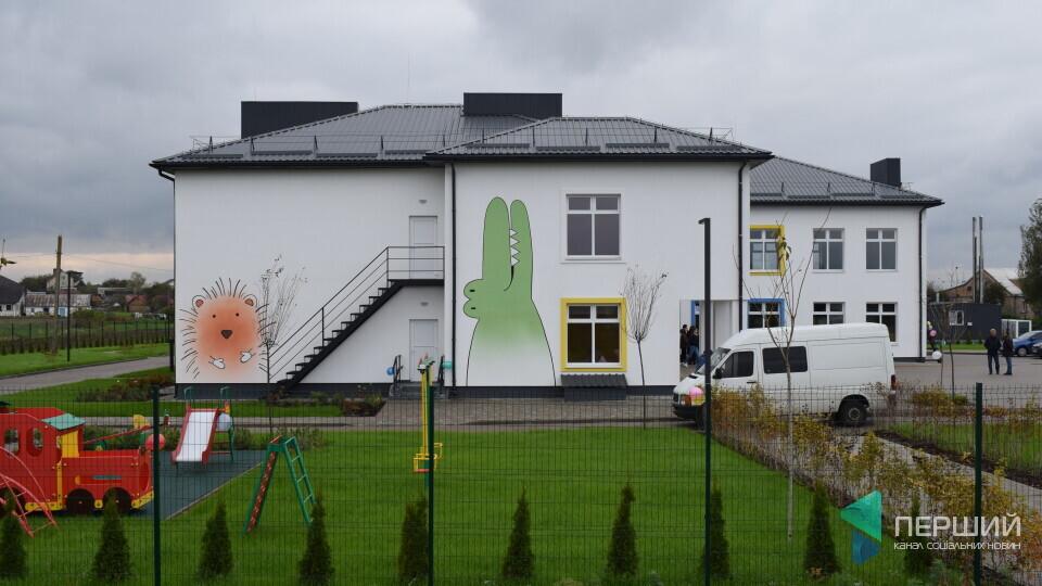 У новий дитячий садок у Крупі почали набирати вихованців