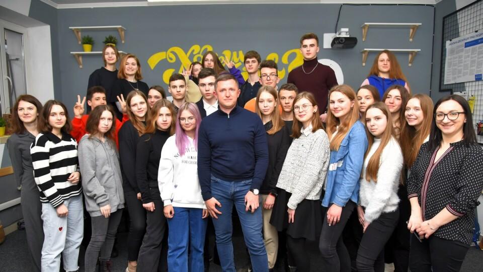 «Підприємець – це стан душі»: у Луцьку відбулася зустріч молоді з Андрієм Разумовським