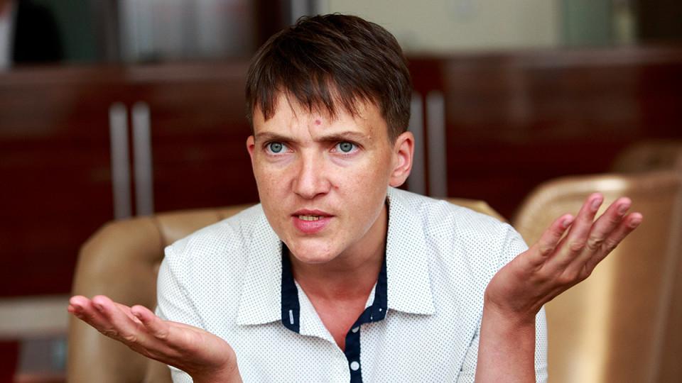 Савченко висунули в президенти. ФОТО