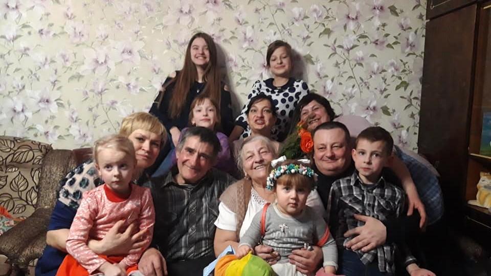 Батьки заступника голови Волинської облради відгуляли золоте весілля. ФОТО