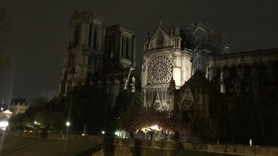 Як виглядає Собор Паризької Богоматері після пожежі. ФОТО