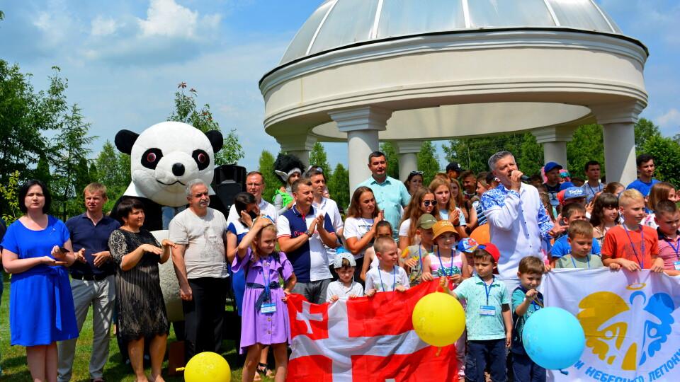 Біля Луцька для дітей загиблих в АТО Героїв відбувся благодійний захід