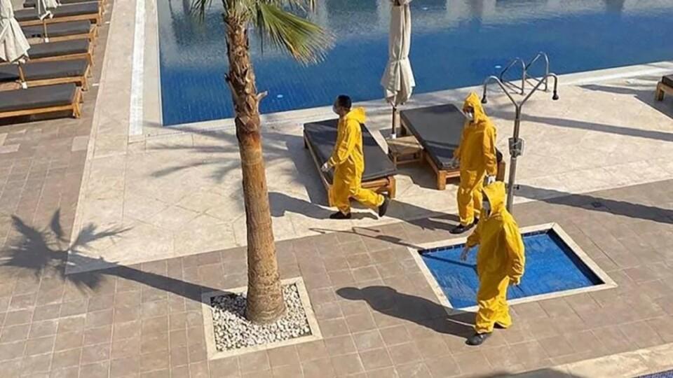 750 українців закрили на карантин у готелі Єгипту. Серед відпочивальників – родина з Волині