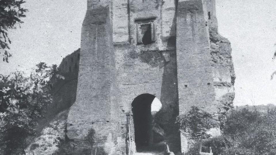 Поруйнований і без стіни: Луцький замок 100 років тому. ЗГАДАТИ ВСЕ