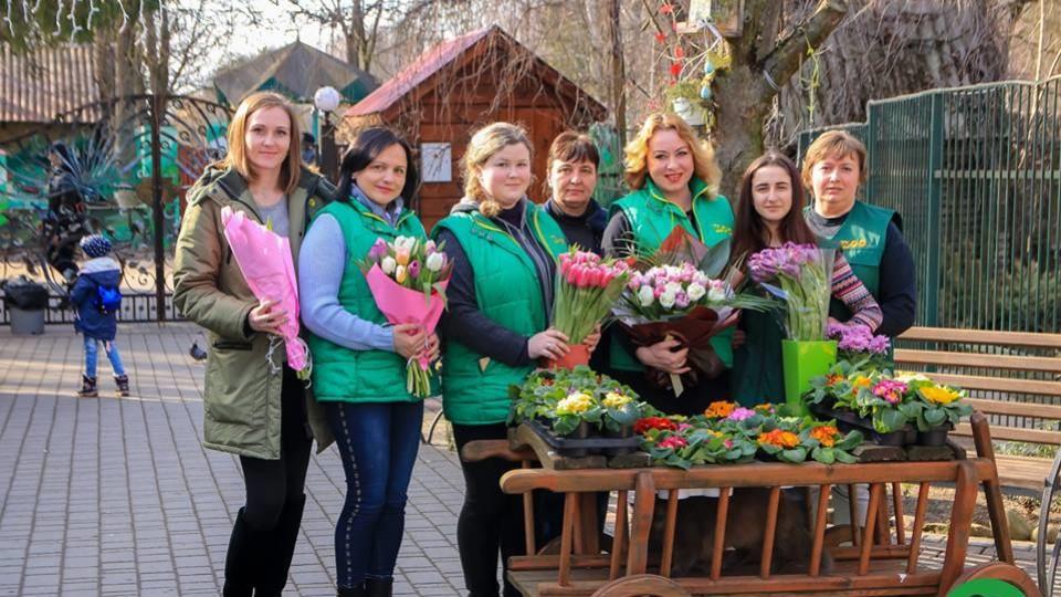 Як у Луцькому зоопарку вітали жінок зі святом весни. ФОТО