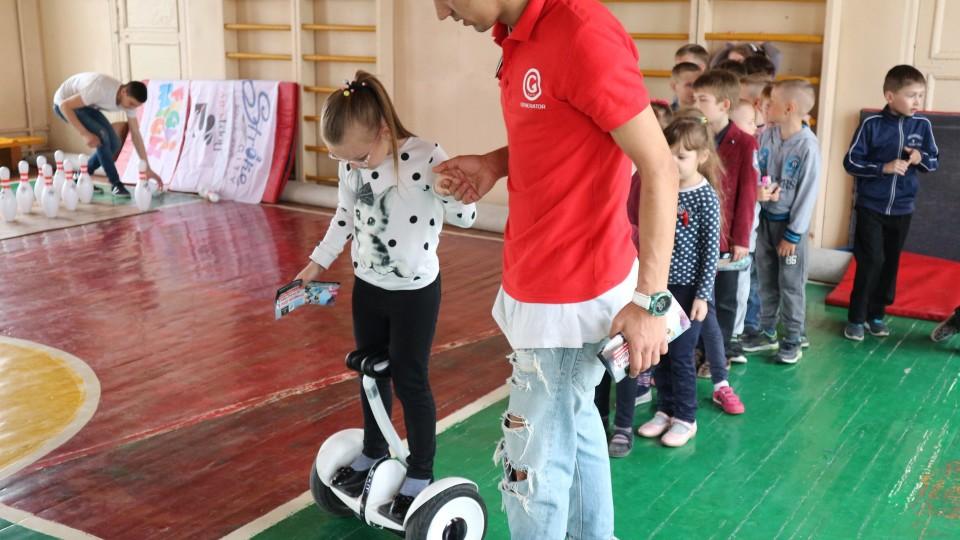 Транспорт майбутнього від GeneratorCity уже в школах Луцька