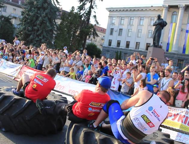 24 канал покаже змагання стронгменів у Луцьку