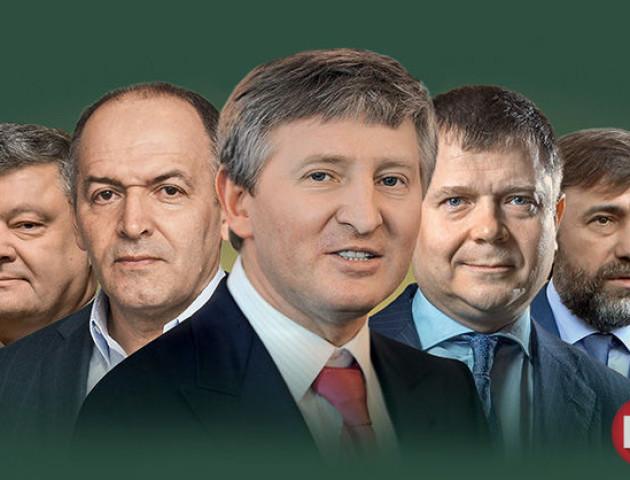 Журнал «Новое время» назвав ТОП-10 найбагатших українців