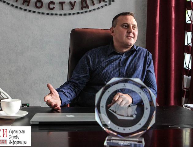 Андрій Осіпов розповів про заходи до 100-річчя Одеської кіностудії. ВІДЕО