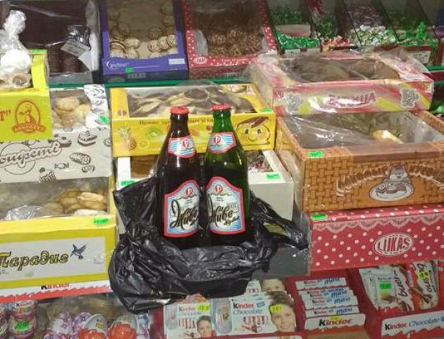 У Луцьку три магазини «погоріли» на нічному продажі алкоголю