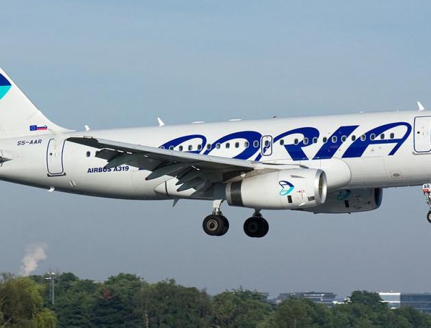 Adria Airways після п'ятирічної перерви відновила польоти в Україну