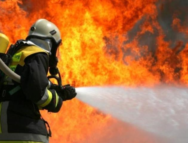 На Волині вогонь знищив тонну соломи