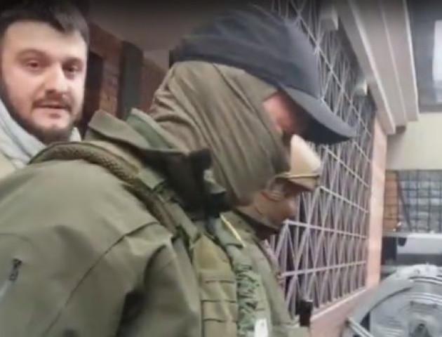 З'явилось відео затримання сина Авакова