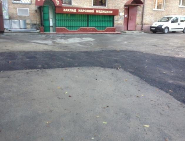 Лучани обурені ремонтом в центрі міста