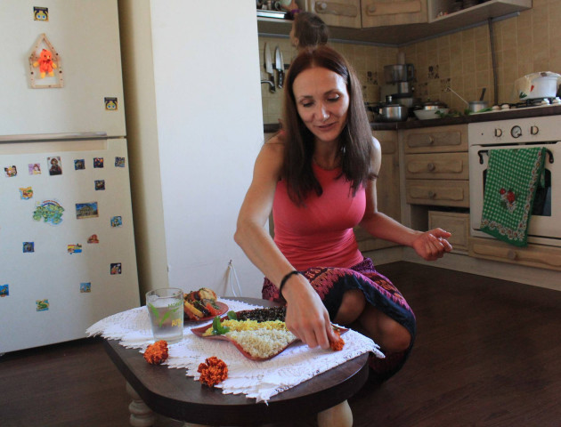 Чи є життя без м'яса, – волинська вегетаріанка Анна Глущук
