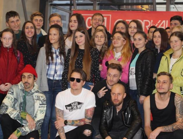 Гурт O.Torvald поспілкувався з фанатами у ПортCity