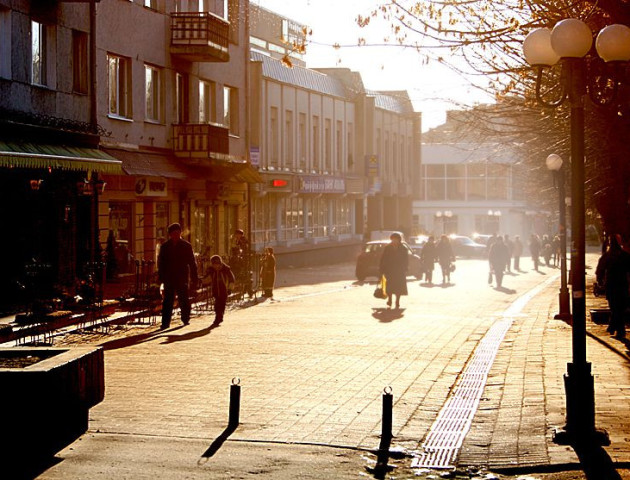 Чи стане пішохідна вулиця Луцька доступною лише для пішоходів.ВІДЕО