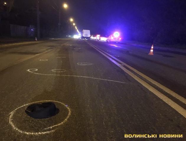 Смертельна ДТП на Луцьку: чоловік перебігав дорогу у невстановленому місці