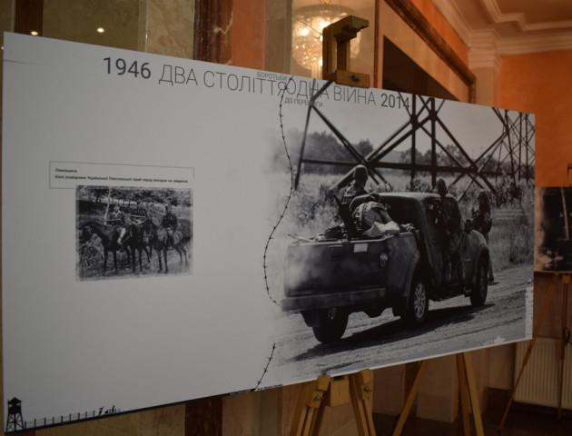 У Луцьку презентували атмосферну виставку військових документів і світлин. ФОТО