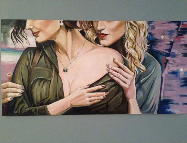 Картини луцького художника «змагались» за 25 тис. євро у Люксембурзі
