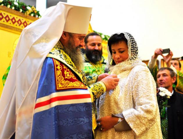 На Волині дружин священиків відзначили церковними нагородами