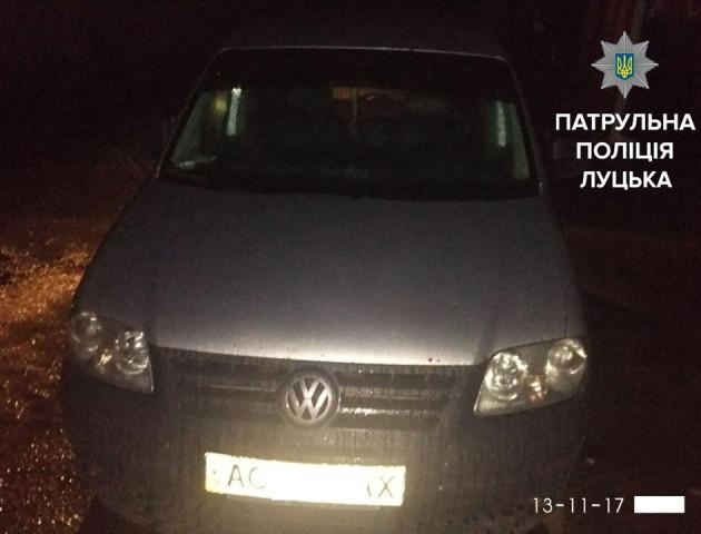 У Луцьку виявили нетверезого водія без водійського посвідчення