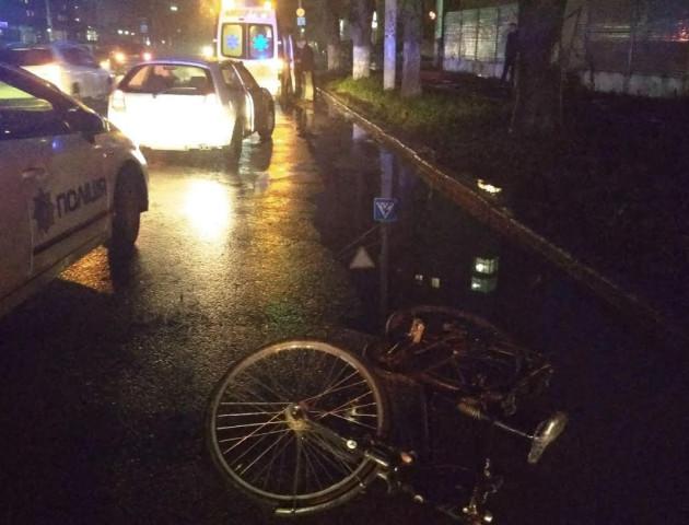 У Луцьку поблизу школи п'яний водій збив велосипедиста