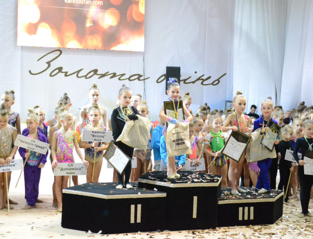 Луцькі гімнастки здобули нагороди на всеукраїнських змаганнях