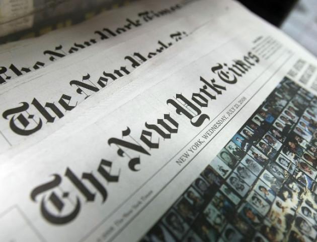 У The New York Times прокоментували помилкову карту з приналежністю Криму до РФ