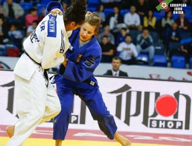 Дзюдоїстка з  Волині здобула срібло на чемпіонаті Європи