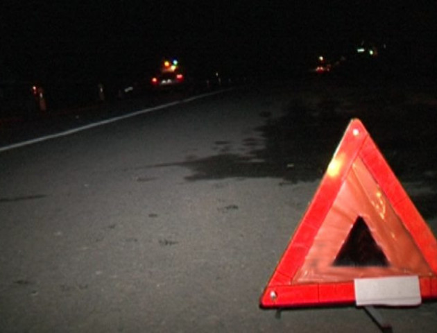 На Волині під колесами авто загинув пішохід