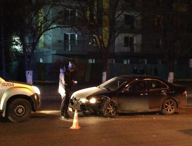 Вечірня ДТП у Луцьку: зіткнулися «Honda» та «Fiat». ФОТО