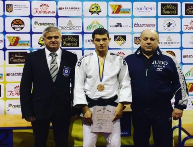 З Кубку України з дзюдо волинянин привіз «бронзу»