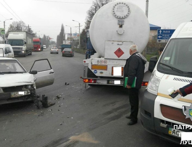 У Луцьку за день - три аварії через недотримання ПДР