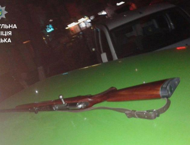 Ножове поранення, п'яний з рушницею та нетверезі водії, - як минула доба у патрульних Луцька