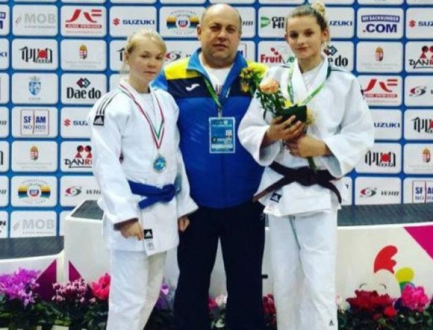 Волинянка виграла срібну медаль на чемпіонаті Європи з дзюдо
