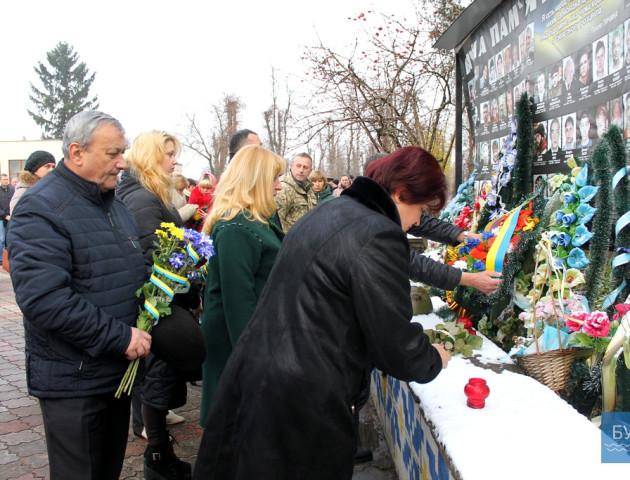 В Іваничах вшанували пам'ять Героїв Небесної сотні. ФОТО
