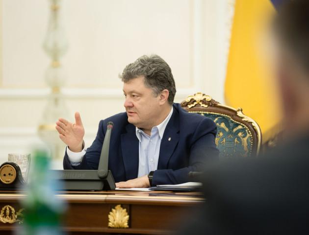 Порошенко скликав РНБО і прокоментував ситуацію в Луганську