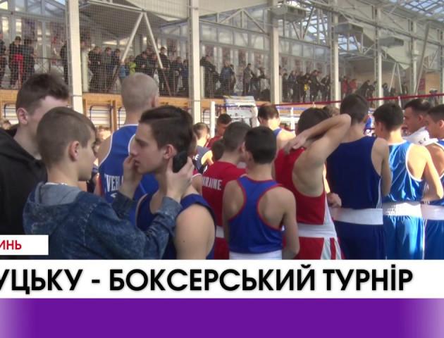 Волинь - центр боксу України. Всеукраїнський турнір у Луцьку