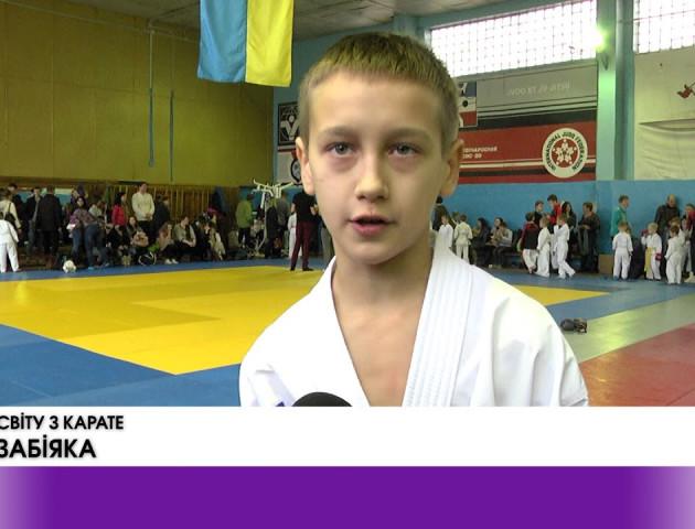 ВІДЕО: У Луцьку відбувся Кубок Волині із контактного карате