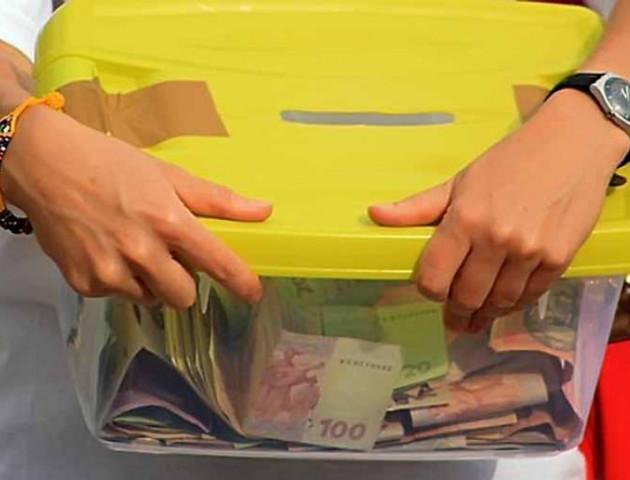 Неповнолітній волинянин поцупив благодійну скриньку з пожертвами