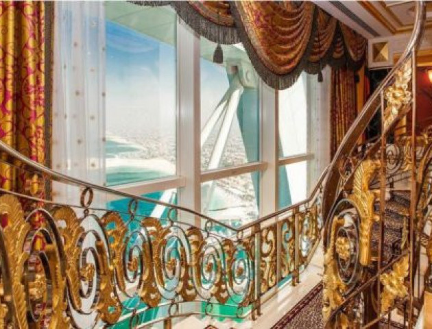 Як виглядає найдорожчий номер у семизірковому готелі в Дубаї